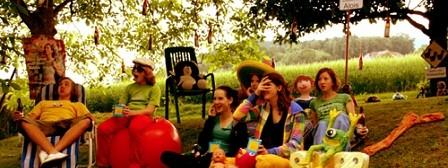 Katy's Gartenkino im Juli