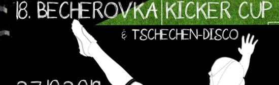 18.Becherovka Kicker Cup 2019 &  – Kicker Cup Finale & Siegerehrung