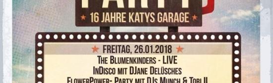 16 Jahre Katy`s Garage Geburtstag